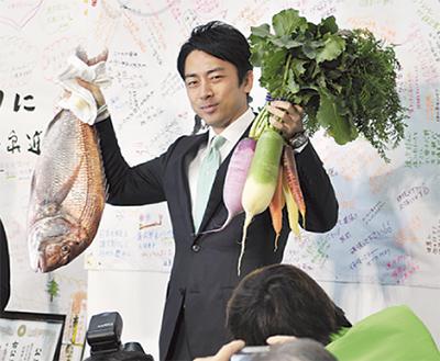 小泉氏、三浦でも圧勝
