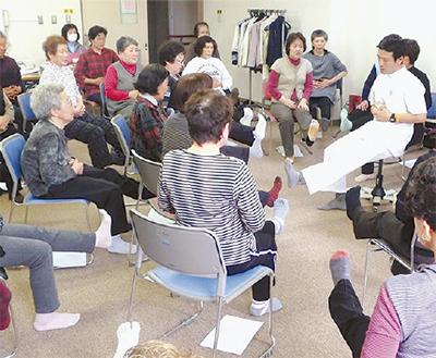 リハビリ体操の講師育成