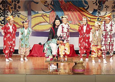 子どもが繋ぐ郷土の伝統