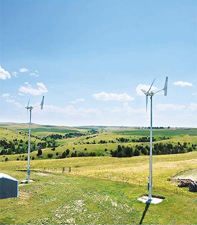 風力発電機2機設置へ