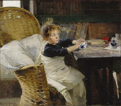 フィンランドを生きた女性画家