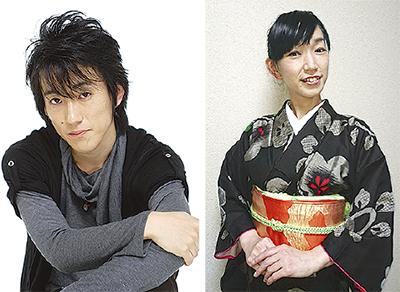 日本舞踊と落語朗読劇