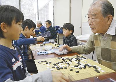 囲碁で磨く子どもの感性