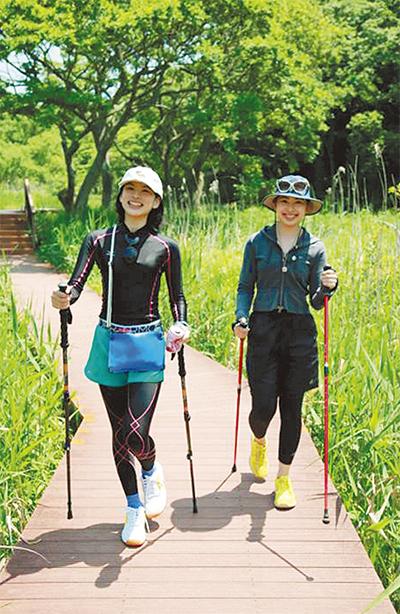 運動×散策で楽しく健康