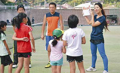 テニス×英語の異種教室