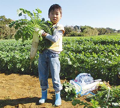 農業の魅力、親子で発見