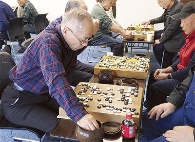 囲碁で交流深める