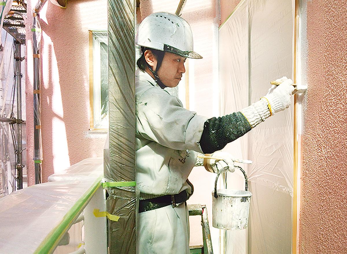 「外壁塗装お任せください」