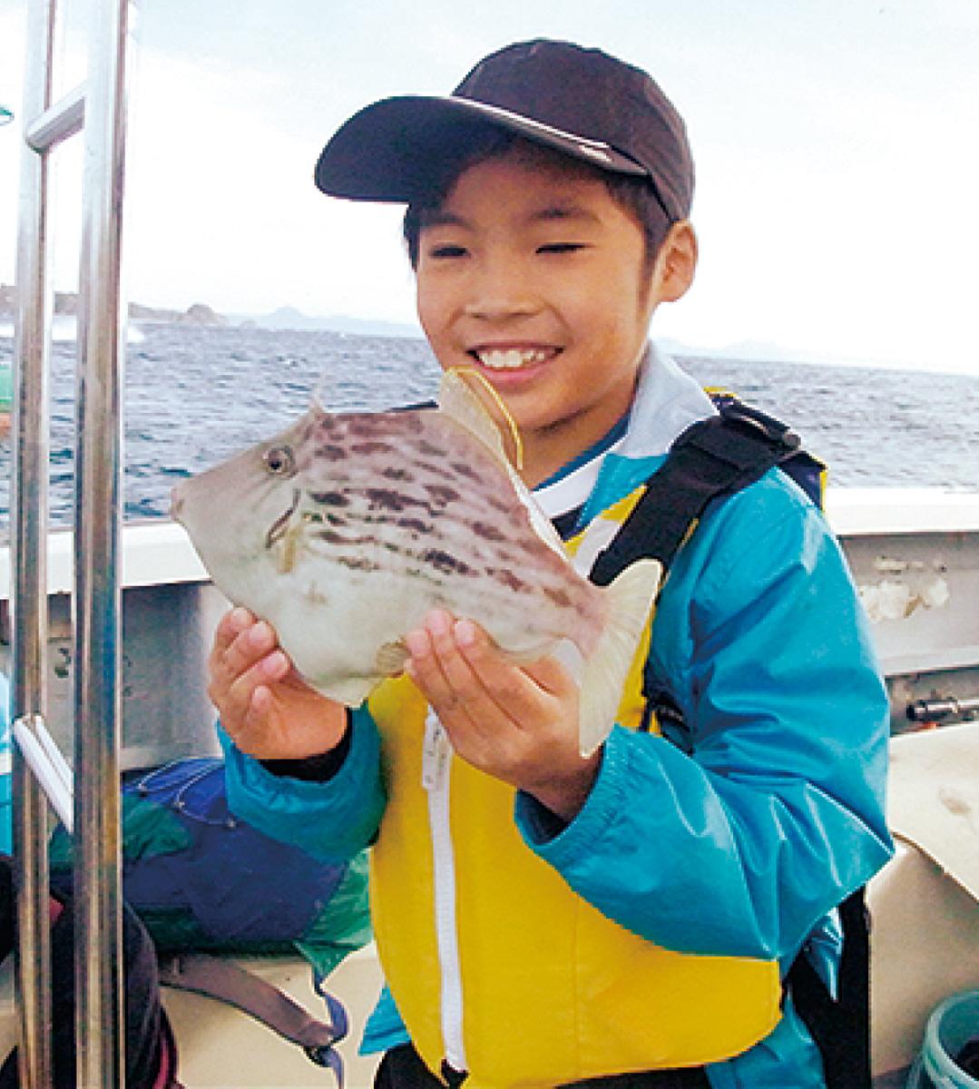 カワハギ釣りに挑戦