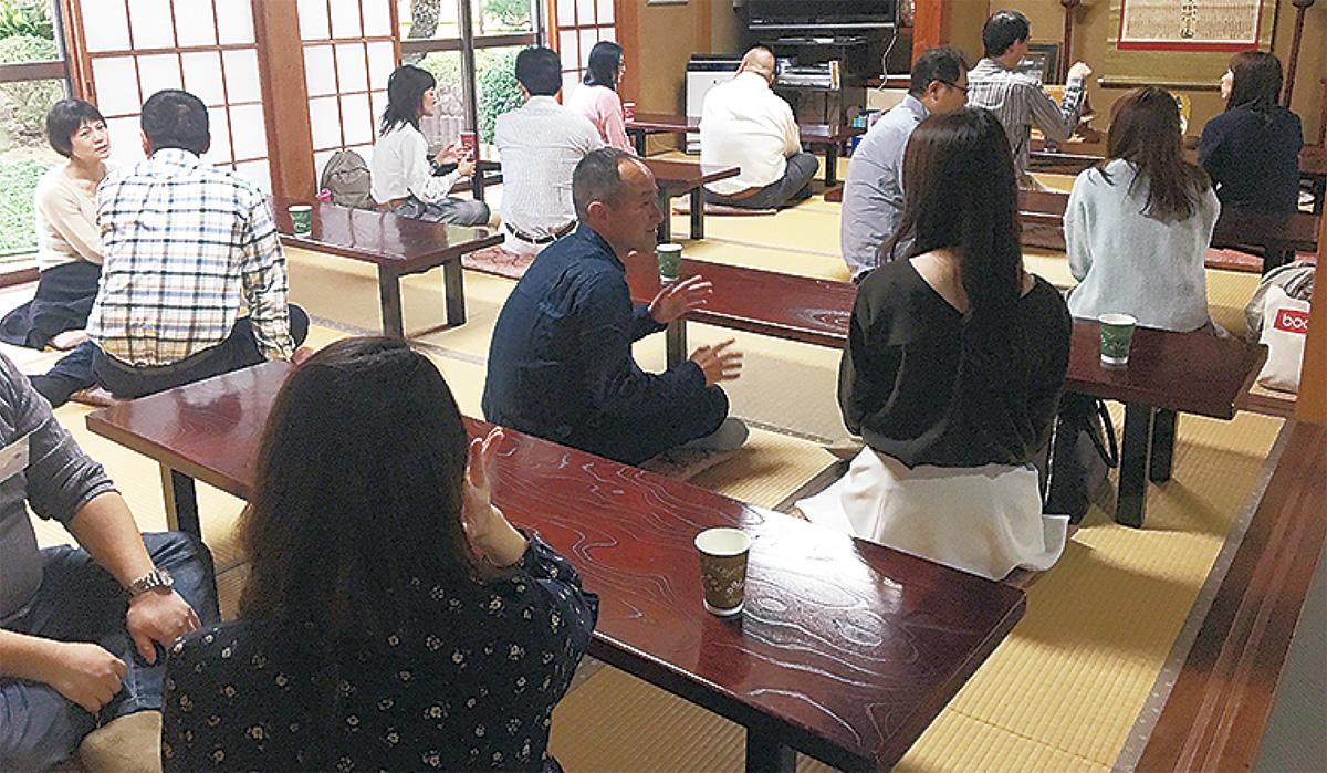「良縁成就」寺コン盛況
