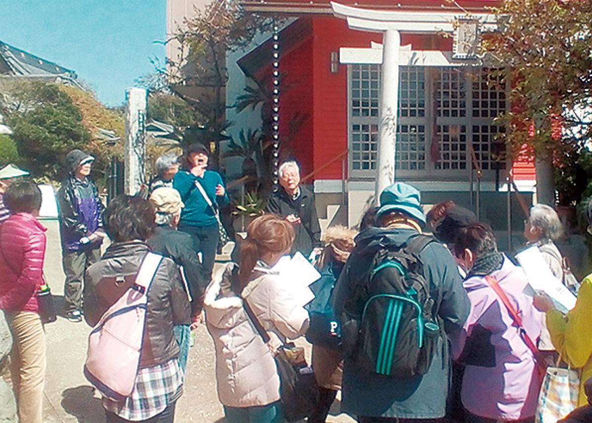 三崎の史跡探訪