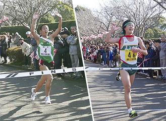 圧倒的な強さを見せた「逗子開成A」チーム(写真右) 2年ぶりに王座を奪還した「池子A」チーム(左)