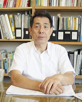 プロジェクトの代表を務める桐ヶ谷覚さん