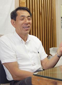 「今必要なのは被災地の人がいきいきと働ける環境づくり」と桐ヶ谷代表