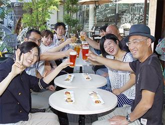 5月に行われた「プレ☆逗子コン」の様子。およそ100人が参加した