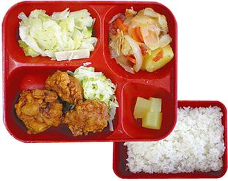逗子市と同様の「ボックスランチ方式」を導入している海老名市の中学校給食