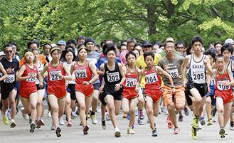 昨年は219人が参加した葉山マラソン
