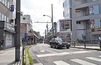 県道逗子銀座通り線