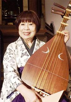 林洋子さんの薩摩琵琶とともに