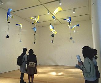 新宮晋《空のこだま》2016年長崎県美術館での展示時に撮影Susumu Shingu