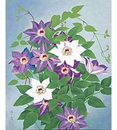 草花の美、日本画にみる