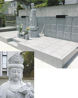 個人墓「いのり」は、1人で、夫婦で、ペットと一緒に眠れる。残された人々への負担を少なくする新しい終活の形を提案している