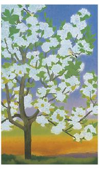 《春》昭和37年(1962) 東京国立近代美術館蔵