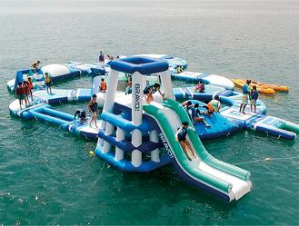 逗子海岸東浜沖に設置される予定(市観光協会提供)