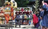 例大祭と神輿