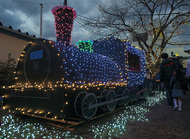 東逗子に「光る列車」出現