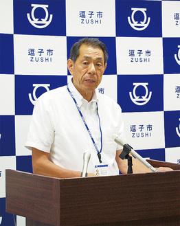 「マッチングを目指す」とした桐ケ谷市長