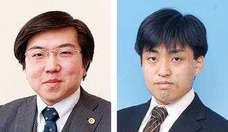 登壇する角井氏(左)と川尻氏