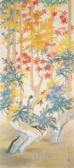 山口蓬春《秋影》1939年 東京国立近代美術館蔵 *当館初展示
