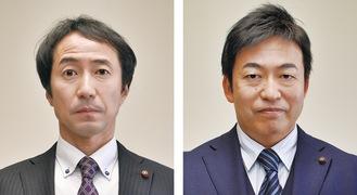 匂坂氏(左)と丸山氏