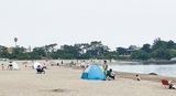 夏の海岸に対応苦慮