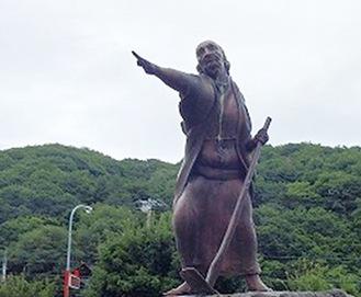 関寛斎の銅像