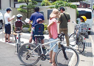 自転車で地元を巡ろう!