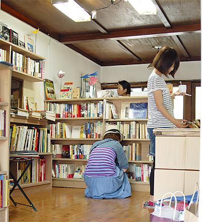 ひと夏限りの古書店