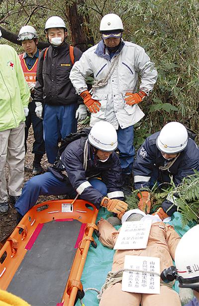 連携強化で遭難者救助へ