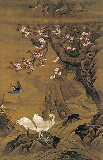 「鳥と水辺」が醸す風情