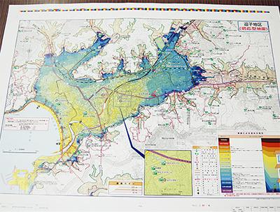 津波ハザードマップが完成