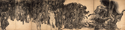 絵画で繋ぐ戦前戦後
