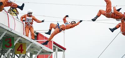 救助訓練大会で全国へ