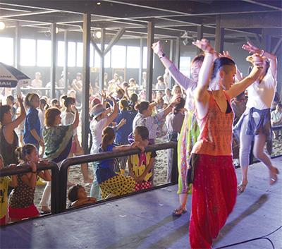 音霊で盆踊り
