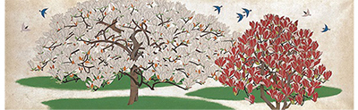 花鳥図でみる四季の移ろい