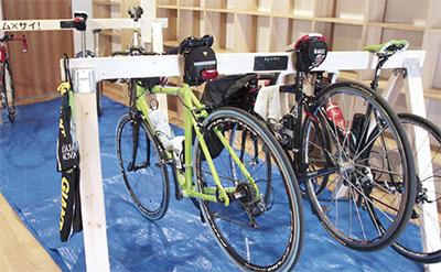 「自転車ラック」地域活性の切り札