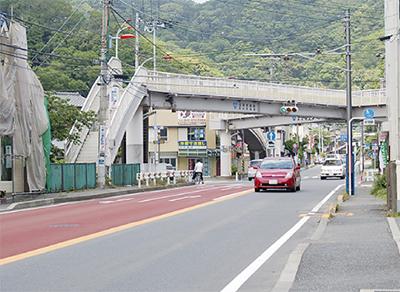 長柄交差点、渋滞緩和の軌跡