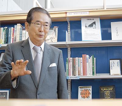 「石原慎太郎文庫」を開設
