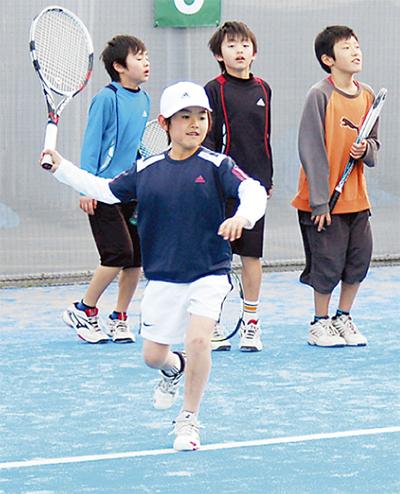夏休み後半はLet'sテニス