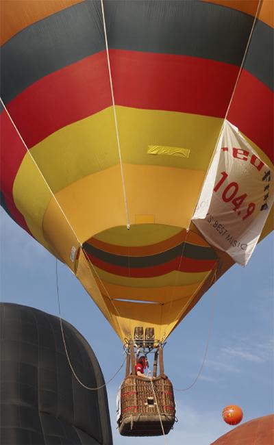 熱気球に乗ろう